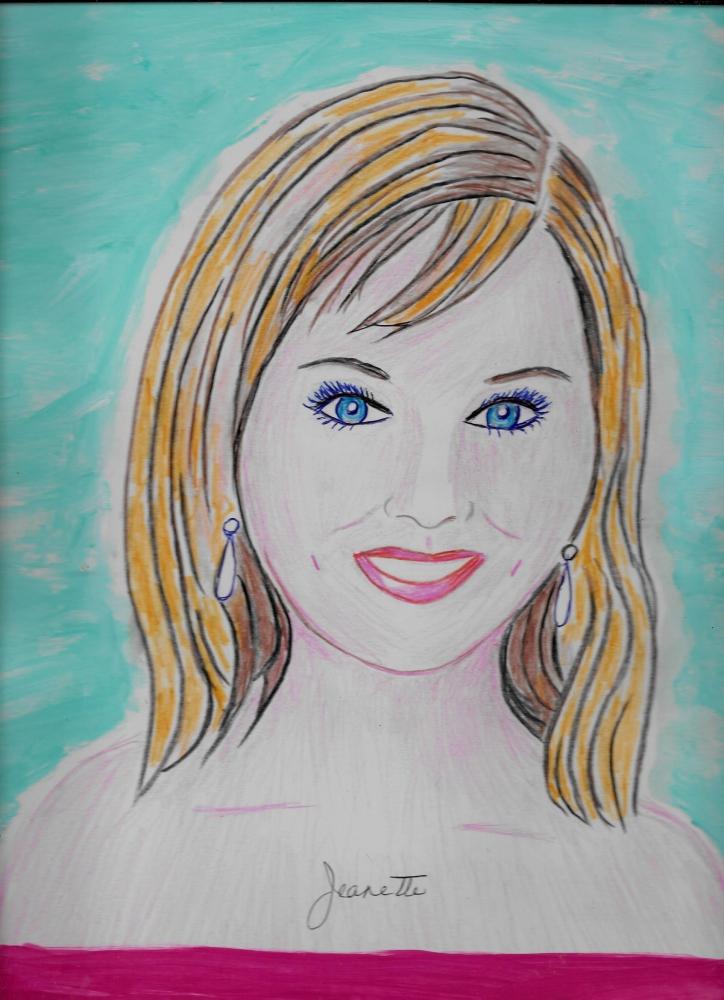 Jennifer Lawrence by Jeanette